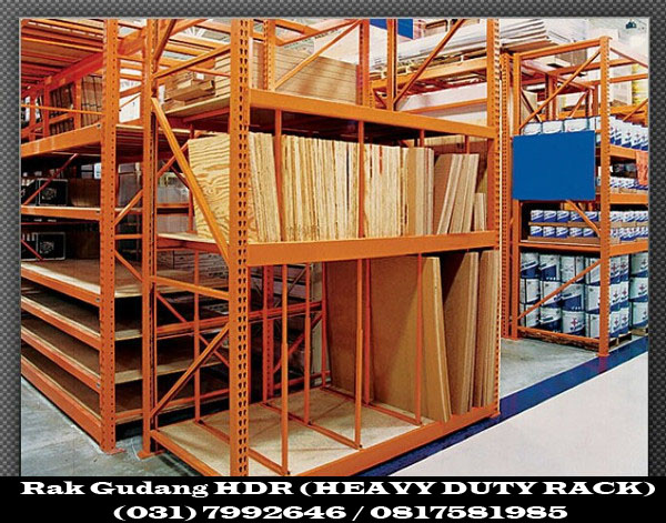 Rak Gudang HDR (HEAVY DUTY RACK)