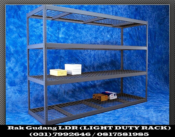 Rak Gudang LDR (LIGHT DUTY RACK)